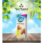 Leite de Amêndoa Silk 1 Litro Sabor Baunilha / Sem Açúcares