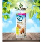 Leite de Amêndoa Silk 1 Litro Sabor Original / Sem Açúcares