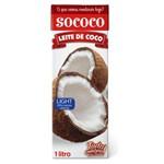 Leite de Coco Light Sococo 1 Litro - 12 Unidades