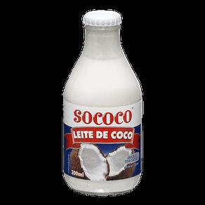 Leite de Coco Sococo Reduzido Teor Calórico 200ml
