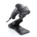 Leitor de Cód. Barras EL220 2D C/Pedestal USB Preto | InfoParts