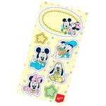 Lembrança Adesiva Baby Mickey e Amigos com 4 Unidades - Regina Festas