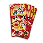 Lembrança Adesiva Mickey C/ 04 Cartelas