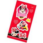 Lembrança Adesiva Red Minnie com 4 Unidades - Regina Festas