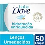 Lenco Umed Dove Baby 50un-sache Hid Enriq