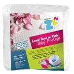 Lençol para Berço Impermeável - Toque de Rosas (medida Única) - Fibrasca - Cód: Z5411