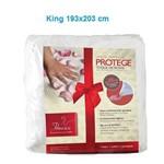 Lençol Permeável Protege - Toque de Rosas King (1.93x2.03m) - Fibrasca - Cód: Fi7178