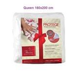 Lençol Permeável Protege - Toque de Rosas Queen (1.6x2m) - Fibrasca - Cód: Fi7177