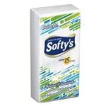 Lenços de Bolso Softys Contém 15 Folhas