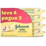 Lenços Umedecidos Johnson & Johnson Baby Recem-Nascido Sem Fragancia Com48 Unidades Leve 4 Pague 3