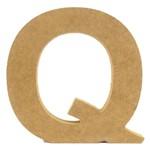 Letra de Mesa Q MDF Grande 19cm