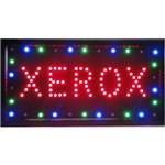 Letreiro Led Painel Luminoso Placa de Aviso Loja - Xerox