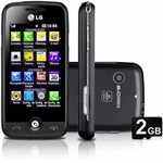 Lg Cookie Plus Gs290 Touch Mp3 Bluetooth Câmera 2mp Preto Novo