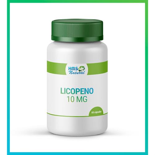 Licopeno 10mg Cápsulas Vegan 60cápsulas