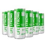 Life Strong Energy Drink Maça Verde Ultra Zero Pack 6 Unidades