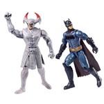 Liga da Justiça Steppenwolf Vs Batman - Mattel