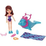 Lila Conjunto Praia Polly Pocket - Mattel FNH16