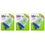 Lillo 614921 Divertida Copo Antivazamento Azul 207ml (kit C/03)