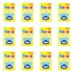 Lillo 801120 Fiona Baby Ex Air Clas Chupeta Silicone Azul Tam2 (kit C/12)