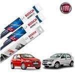Limpador Parabrisa Dian+Tras Palio G3 e G4 2004-2012 Bosch
