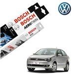 Limpador Parabrisa Dian+Tras Polo Bluemotion 2009-2014 Bosch