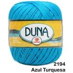 Linha Duna Circulo 100g - Cor: 2194 Azul Turquesa