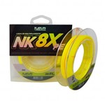Linha Maruri By Nakamura NK 8X Amarela (0,44mm 55,4lb) 200m