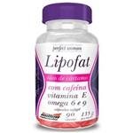Lipofat Óleo de Cartamo com Cafeína 90 Cápsulas - New Millen