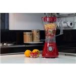 Liquidificador Evolution Vermelho 800w 1,5 Litros 4 Velocidades - Cadence Trapeze Colors Liq351