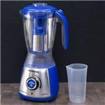 Liquidificador Mondial Ice Tritter Inox com 10 Velocidades Azul