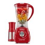 Liquidificador Mondial L-76 Maxis Filter 800w de 4 Velocidades 220v - Vermelho
