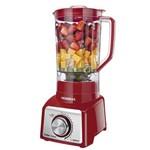 Liquidificador Mondial Premium Red L1000 com 12 Velocidades e 1000w - Vermelho
