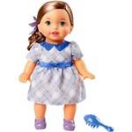 Little Mommy Doce Bebê Morena Vestido Lilás - Mattel