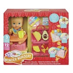 Little Mommy Lanchinhos Surpresa Babador Azul - Mattel
