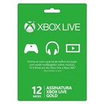 Live Gold 12 Meses Xbox