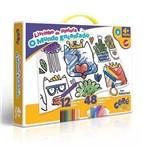 Livrinho de Pintura o Mundo Encantado - 2239 - Toyster