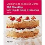 Livro - 200 Receitas Incríveis de Bolos e Biscoitos