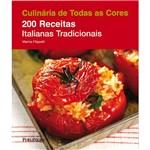 Livro - 200 Receitas Italianas Tradicionais