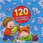 Livro - 120 Atividades e Passatempos - Azul