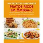Livro - 100 Receitas Saudáveis: Pratos Ricos em Ômega-3