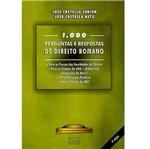 Livro - 1000 Perguntas e Respostas de Direito Romano