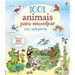 Livro - 1001 Animais para Encontrar em Adesivos