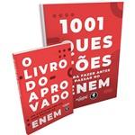 Livro - 1001 Questões para Fazer Antes de Passar no Enem + o Livro do Aprovado