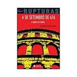 Livro - 4 de Setembro de 476: a Queda de Roma