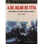 Livro - 4 DeJulho de 1776 - Independência dos Estados Unidos da América
