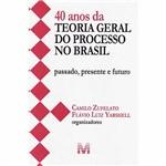 Livro - 40 Anos da Teoria Geral do Processo no Brasil