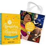 Livro - 50 Brasileiras Incríveis para Conhecer Antes de Crescer + Brinde