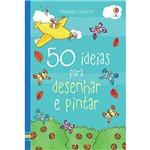Livro - 50 Ideias para Desenhar e Pintar