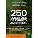 Livro - 250 Questões de Direito Ambiental - Especial para Concursos
