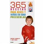Livro - 365 Recetas para Bebes Y Ninos En Edad Preescolar